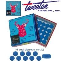 Tweeten Elk Master 10 cuoi per stecca biliardo diametro mm.12