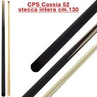 CPS Cassia 52 stecca biliardo intera cm.130, cuoio a vite, biliardo tutte le discipline.