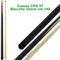 CPS Cassia 57 stecca biliardo intera cm.145, cuoio a vite, biliardo tutte le discipline.