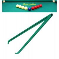 Biliardo compasso calibro in PVC lunghezza cm. 36, per misurazioni nel gioco boccetta.