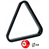 Triangolo in pvc per spacco gioco pool bilie Ø mm.48.