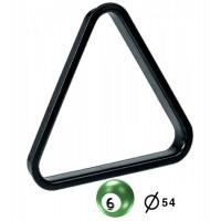 Triangolo in pvc per posizionamento e spacco gioco pool bilie  Ø mm.54.