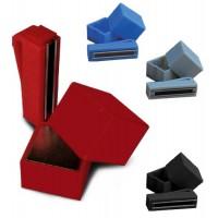 Portagesso magnetico in plastica, vari colori, per gesso da biliardo.