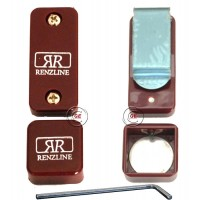 Renzline porta gesso biliardo magnetico Thai universale regolabile, amaranto.