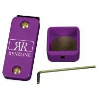 Renzi Line porta gesso biliardo magnetico Thai universale regolabile, viola.