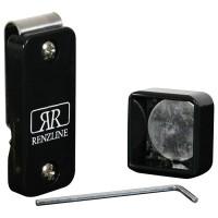 Renzi Line porta gesso biliardo magnetico Thai universale regolabile, nero.