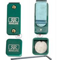 Renzi Line porta gesso biliardo magnetico Thai universale regolabile, verde.